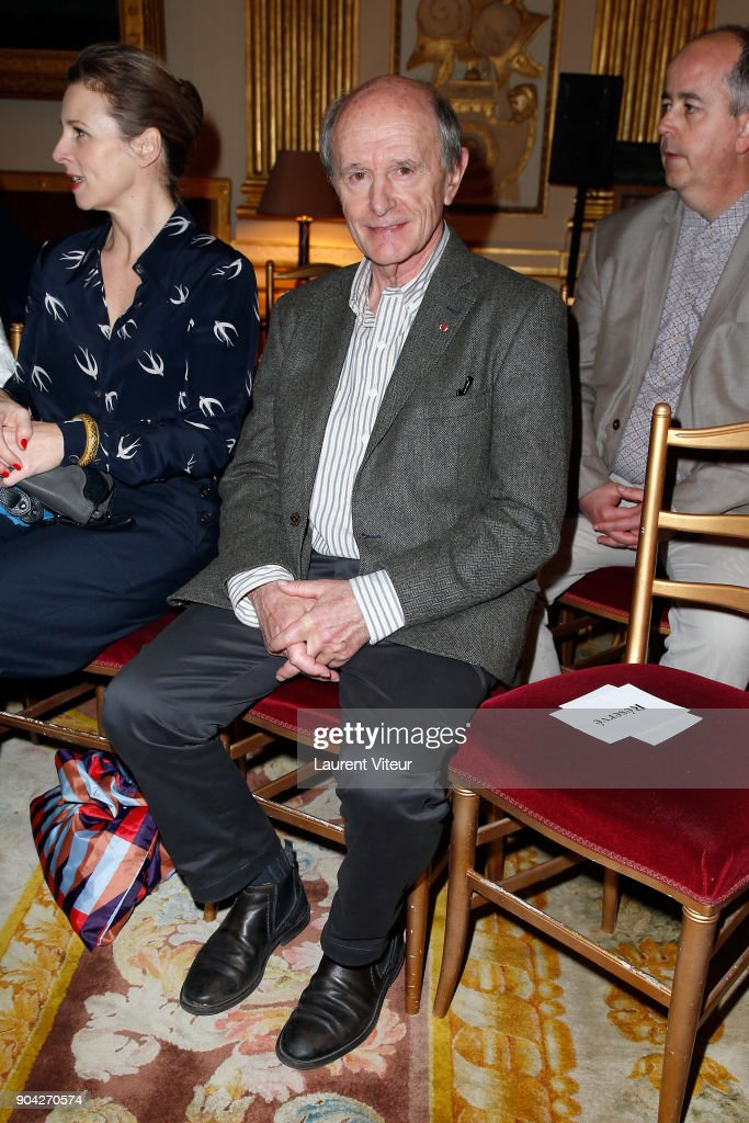 Explorator and Writer Jean-Louis Etienne attends 'La Nuit de la Lecture' Launch Day at Ministere de la Culture on January 12, 2018 in Paris, France.