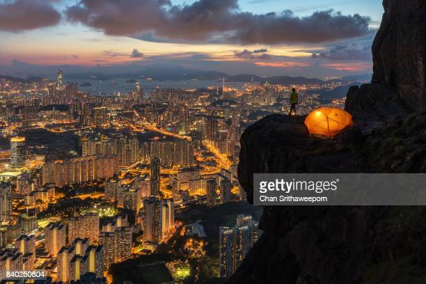 explore hong kong - kowloon peninsula stock pictures, royalty-free photos & images