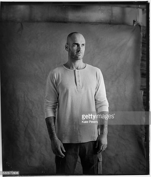 Explorer and first man to walk the entire length of the Amazon, Ed Stafford is photographed on January 16, 2014 in London, England.
