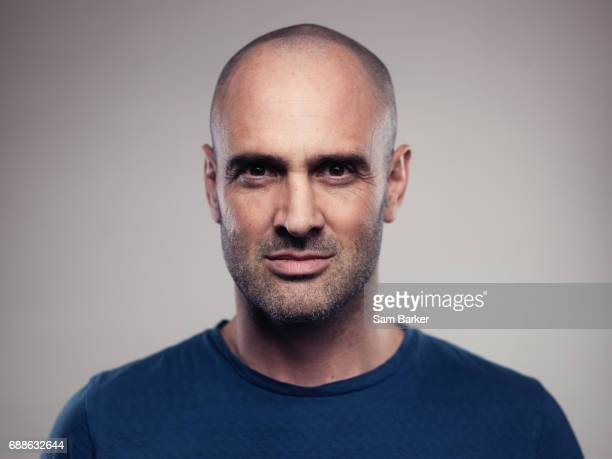 Explorer and first man to walk the entire length of the Amazon Ed Stafford is photographed for British Airways magazine on November 3 2016 in London...