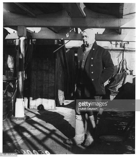 Explorer Robert Falcon Scott on Expedition