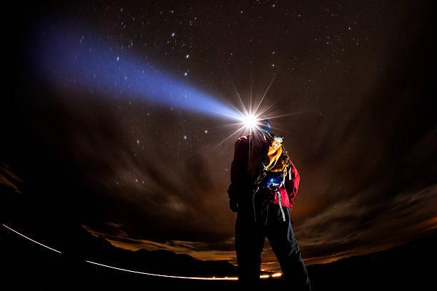 Exploring by headlamp