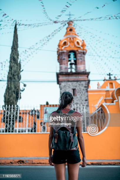 exploring city - puebla state stock pictures, royalty-free photos & images