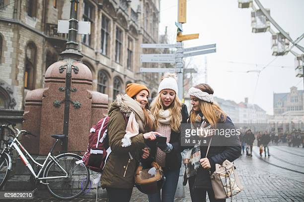 exploring europe with my best friends - belgium stock pictures, royalty-free photos & images