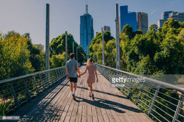 exploring melbourne, australia - melbourne australia stock pictures, royalty-free photos & images