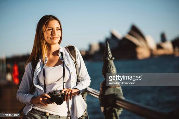 exploring sydney - mid adult stock pictures, royalty-free photos & images