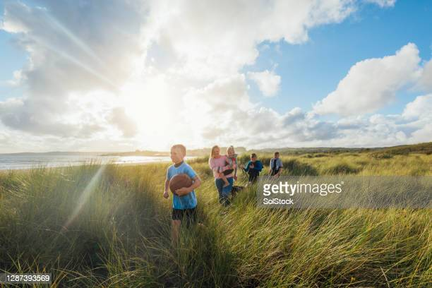 exploring the coastline - vitality stock pictures, royalty-free photos & images