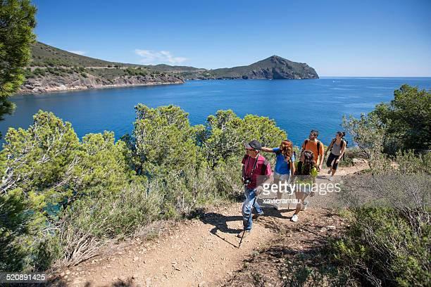 Exploring the mediterranean coast