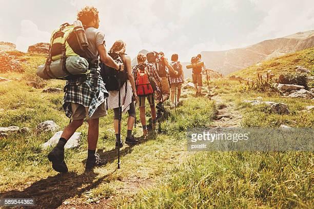 Explorar la montaña