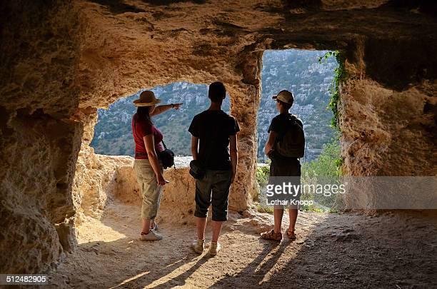 Exploring the rocky necropolis of Pantalica