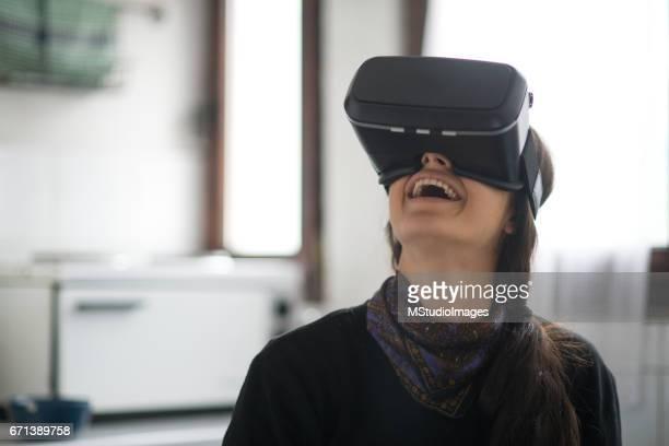 Virtuellen Realität zu erkunden