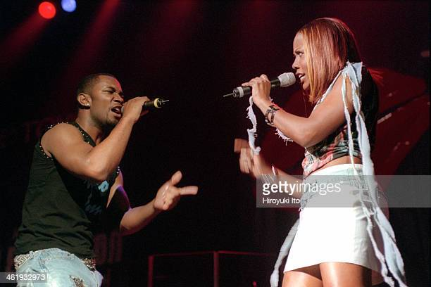 RB Explosion at the Theater at Madison Square Garden on Wednesday night March 28 2001This imageThe duo Koffee BrownFonz left and Verlene Vee Sales