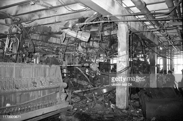 Explosion in the CIBA Basle 1969