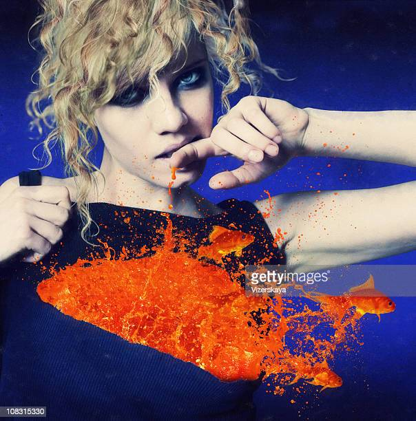 explosion of feelings - symbolism stock photos and pictures