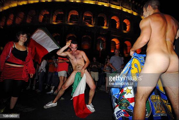 Explosion of joy in Rome as Italy win Football World CupRome erupted in a damburst of joy firecrackers flags and tearful embraces as Italians...