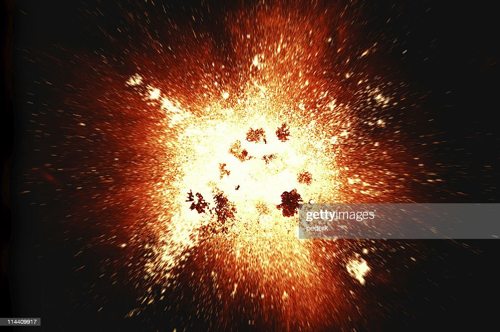 Explosion (superhires) : Stock Photo