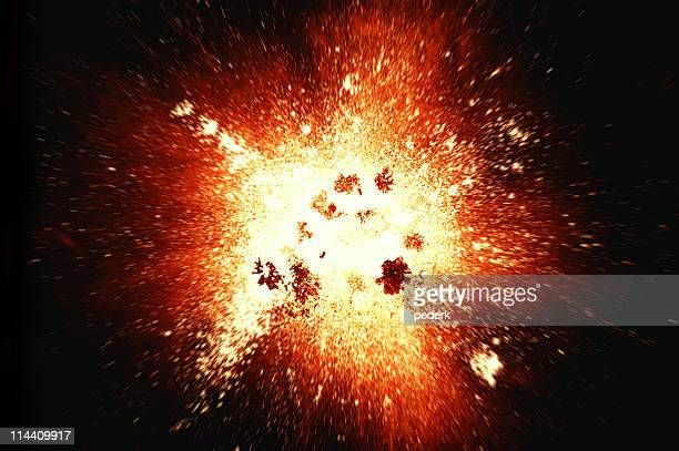 explosion (superhires) - fire natural phenomenon stock pictures, royalty-free photos & images