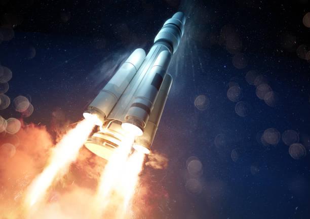 Explosive Rocket Launch