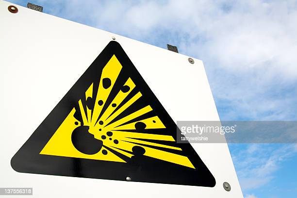 explosive sign - dynamite stock photos and pictures