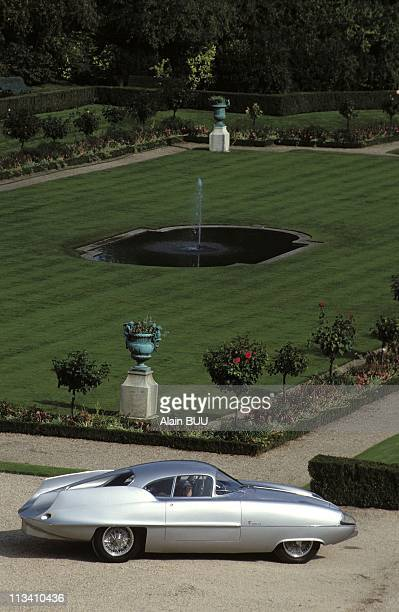 Expo'Cars For Princes' On September 13th 1992 Bat Prototype Of Alfa Romeo In ParisFrance