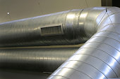 Exposed HVAC Duct System