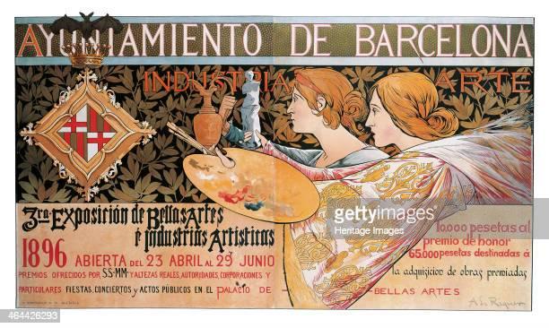 Exposición de Bellas Artes é Industrias Artísticas 1896 Found in the collection of the Museu Nacional d'Art de Catalunya Barcelona