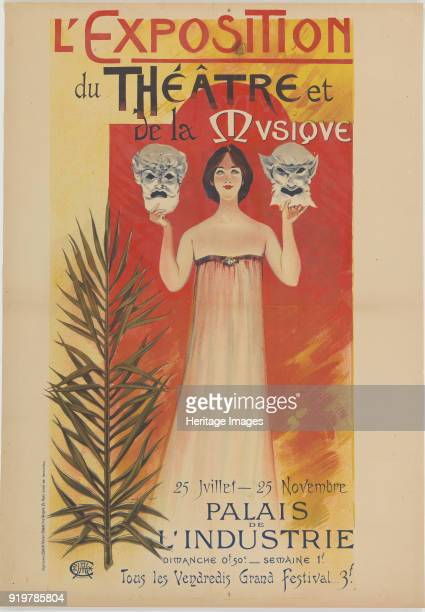 L'Exposition du Théâtre et de la Musique 1896 Private Collection