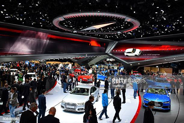Exposition of Audi cars on the motor show