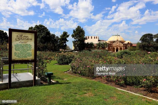 Exposition Park Rose Garden and Los Angeles County Museum of Natural History in Los Angeles California on September 11 2017