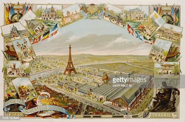 Exposition Universelle de Paris 1889 Poster