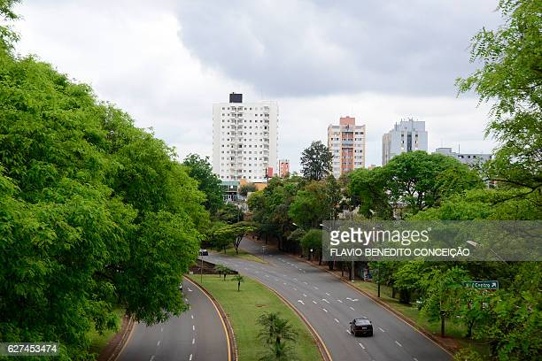 Express avenue in the city of Londrina in Brazil