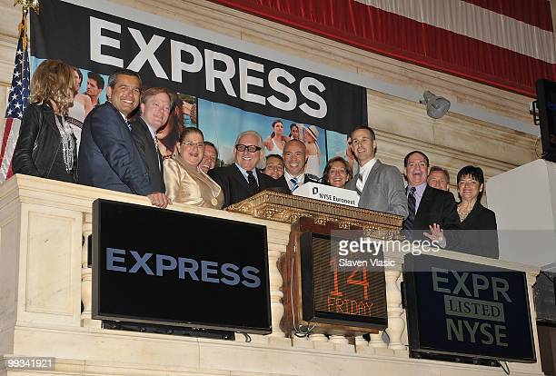 Express Inc executives Fran HorowitzBonadies Colin Campbell David Kornberg Arlene Weiss Michael Weiss President CEO Express Inc Stefan Kaluzny...