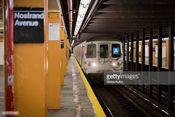 a express train - new york city subway stock pictures, royalty-free photos & images