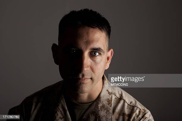 Expressionless Marine