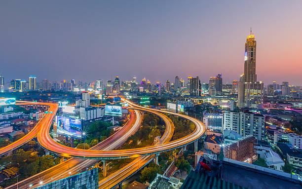 Expressway In Bangkok Wall Art