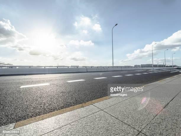 Expressway to Shanghai hongqiao international airport