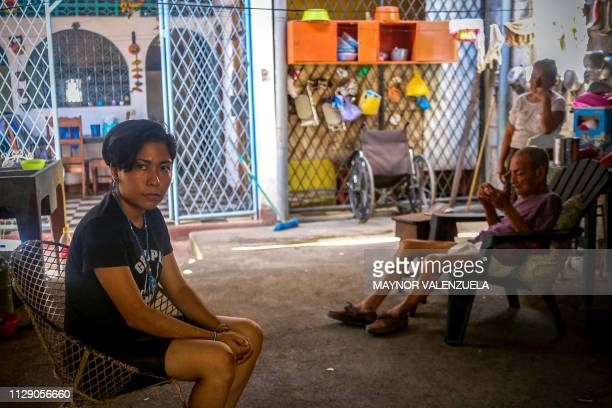 Exprisoner university student Ana Gabriela Nicaragua poses at her house in Managua on March 04 2019 Nicaraguan mothers are leading a fight to free...