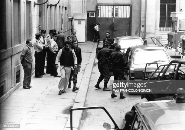 Expulsion des 3 diplomates irakiens responsables de la fusillade devant l'Ambassade d'Irak le 2 août 1978 à Paris France