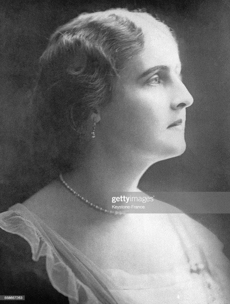 L'ex-Reine Elisabeth de Grèce : News Photo