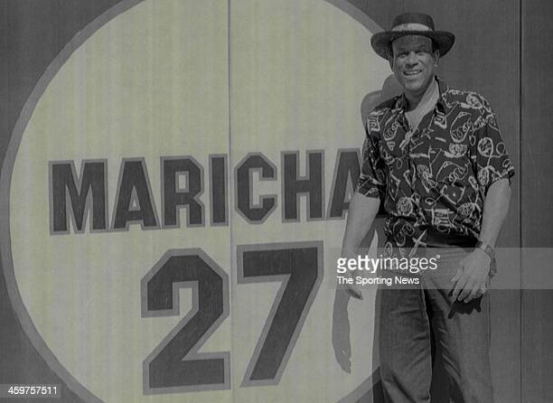 ExSan Francisco Giants great Orlando Cepeda stands in the outfield of Candlestick Park next to the retired number of his friend and Hall of Famer...