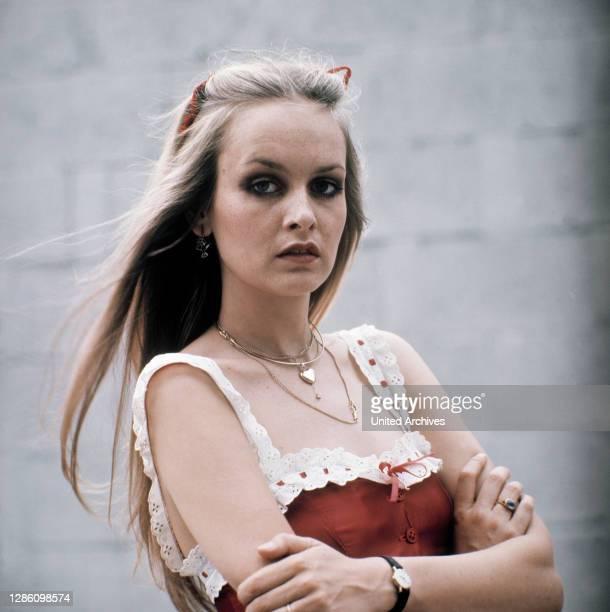Ex-Super-Model der 60er. Porträt aus den 70er Jahren.Porträt, Model, Sängerin, 70er.