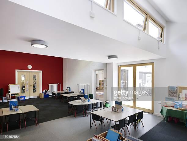 Extension interior classroom Dulwich Village Infant School London United Kingdom Architect Cazenove Architects 2012