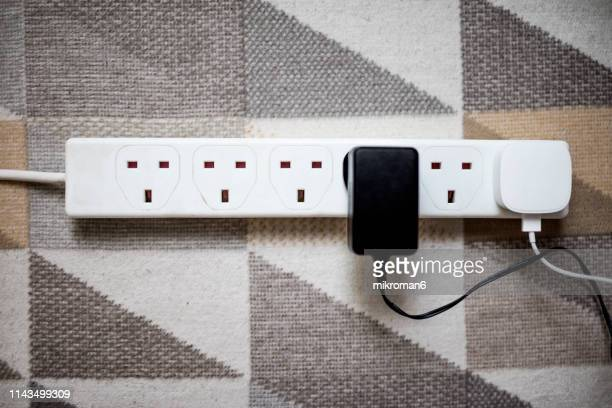 extension lead - power supply stock pictures, royalty-free photos & images