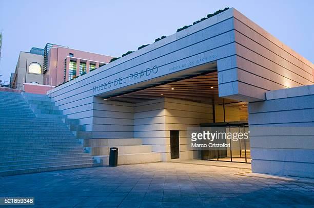 extension of museo del prado in madrid - el prado museum stock pictures, royalty-free photos & images