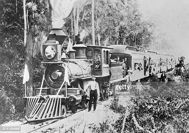 Extension of the late Henry M Flagler's Florida East Coast Railway to Miami marked the beginning of the fabulous growth of the city and of other...
