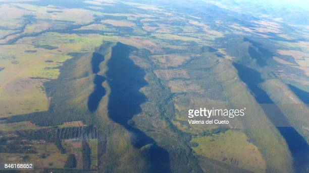 Extensive agriculture and natural relief