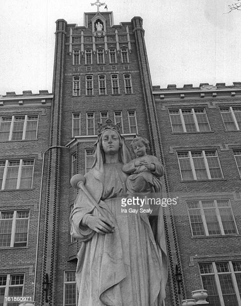 DEC 20 1965 1201966 Exterias Front of Queen of Heaven Orphanage soon to become Saint Cabrini Memorial School