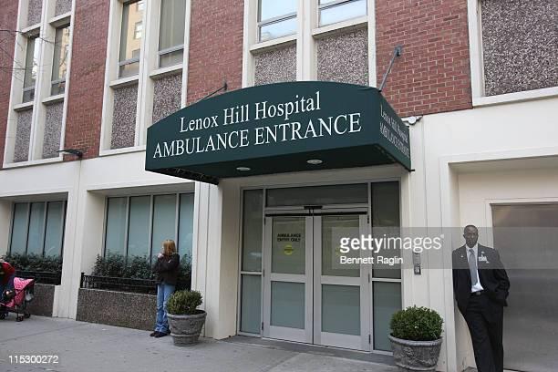 Exterior Atmosphere Of Lenox Hill Hospital Where Natasha