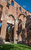 Exterior Detail, Tartu Cathedral, Cathedral Hill, Toomemagi, Tartu, Estonia