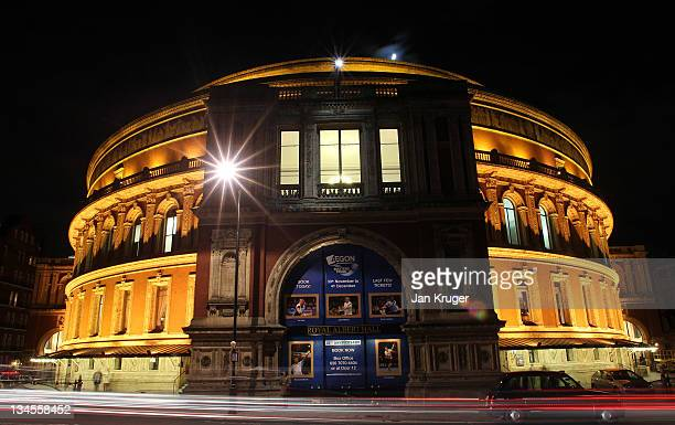 Exterior general view of the Royal Albert Hall during Day Three of the AEGON Masters Tennis at the Royal Albert Hall on December 2, 2011 in London ,...